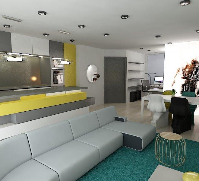 Cuina-menjador apartaments