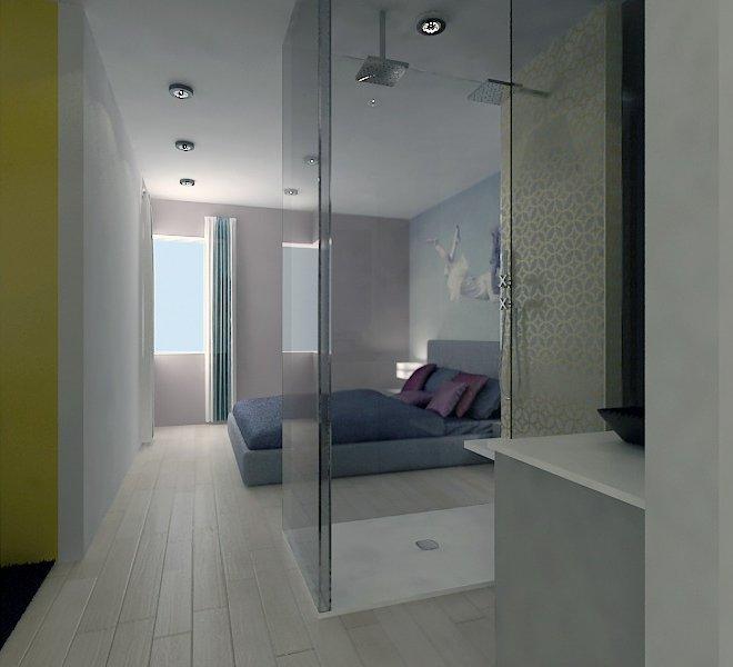 Habitació de matrimoni apartaments